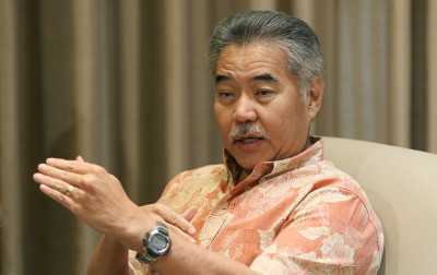 Governor David Ige will almost certainly benefit from huge PAC donations when he runs for re-election in 2018.