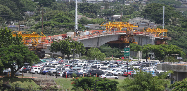 Honolulu's rail line may be inching every closer to town, but support for the project is shrinking, says a new Civil Beat poll.