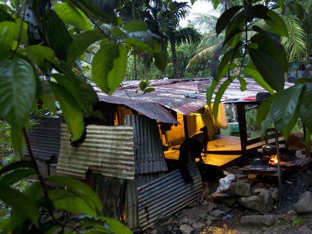Shelter on Pohnpei.