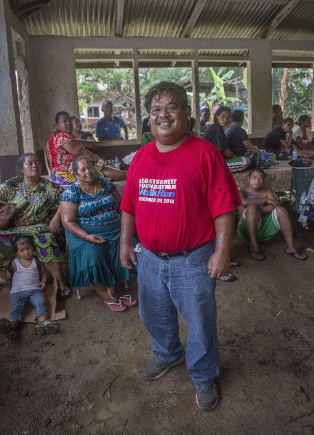John Ehsa, the governor of Pohnpei, says the U.S. makes it too difficult to spend the money coming in for direct aid.