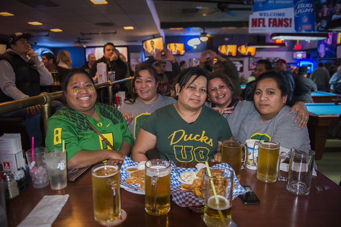 Immigrants from Pingelap in Pohnpei have found jobs and a favorite football team near Portland, Oregon.