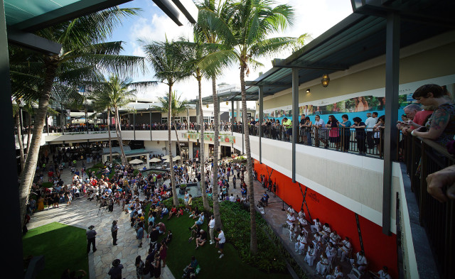 Ala Moana Center is managed by General Growth Properties, a real estate investment trust.