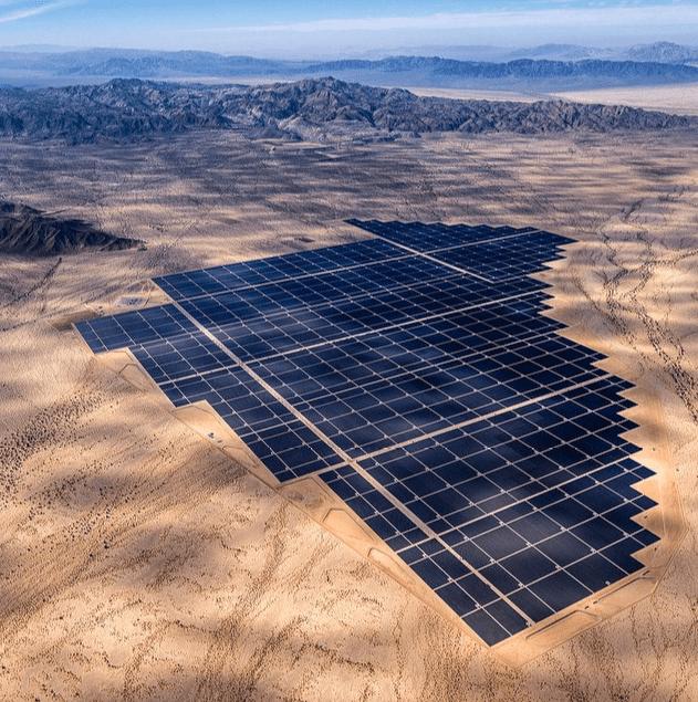 Desert Sunlight Solar Farm California