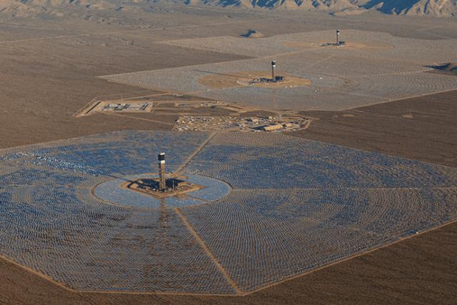 Ivanpah Solar Electric Generating System Nevada