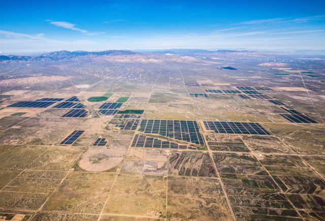Solar Star is the largest operating solar photovoltaic power plant in the world.