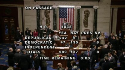 The final House vote on a bill that would single out Iraqi and Syrian refugees for vetting beyond the already extensive process before being admitted to the United States.