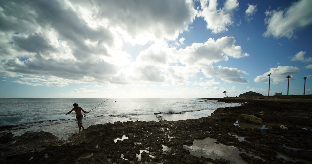 The Harbor's location on the edge of the coast makes it an ideal spot for fishing, as some Native Hawaiian cultural practitioners have found.