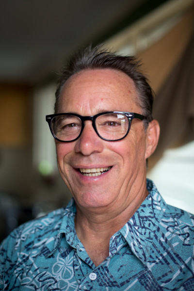 Robert Binnie spent six years homeless in Honolulu, but is now working on a degree at Kapiolani Community College.