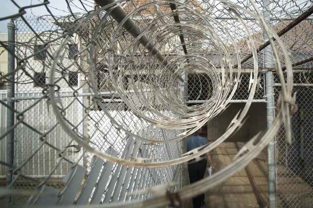 Razor wire at OCCC Oahu Community Correctional Center.