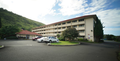 The Saint Francis Convent is near the University of Hawaii, Manoa, campus.