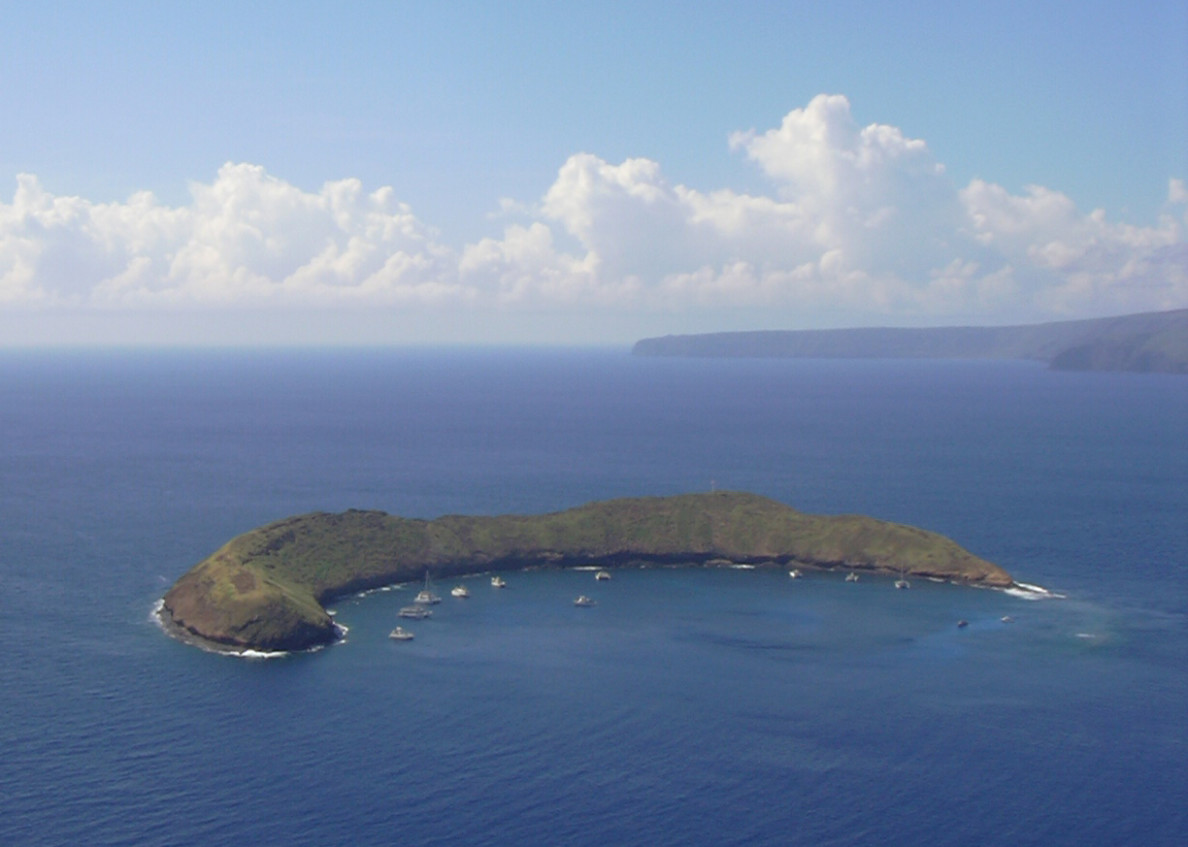 Snorkel tours to Molokini Crater are popular for visitors to Maui.