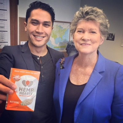 Reps. Kaniela Ing and Cynthia Thielen form a inter-party alliance in support of hemp legalization.