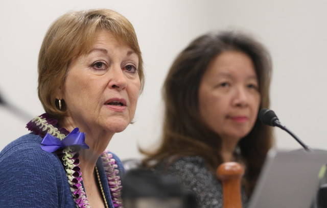 Sens. Roz Baker and Suzanne Chun Oakland chair committees that are key to passage of the care bill.