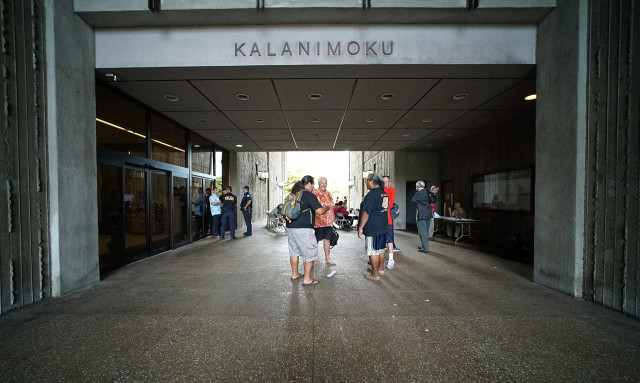 The Kalanimoku Building downtown, where DLNR has offices. It is one of many state agencies relying on 89-day hires.