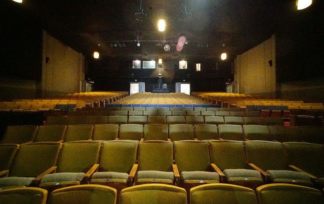 The theater was built in 1933 to entertain soldiers stationed at Fort Ruger.