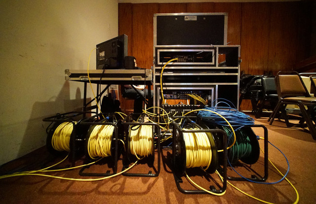 The Capitol Auditorium and 16 conference rooms are now wired for broadcast.