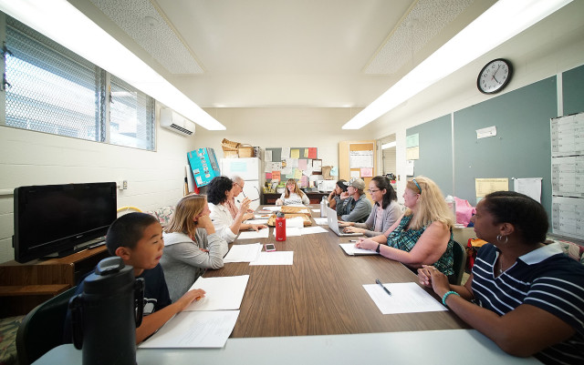 The School Community Council at Waikiki Elementary plays an important role in school improvement, its principal says.