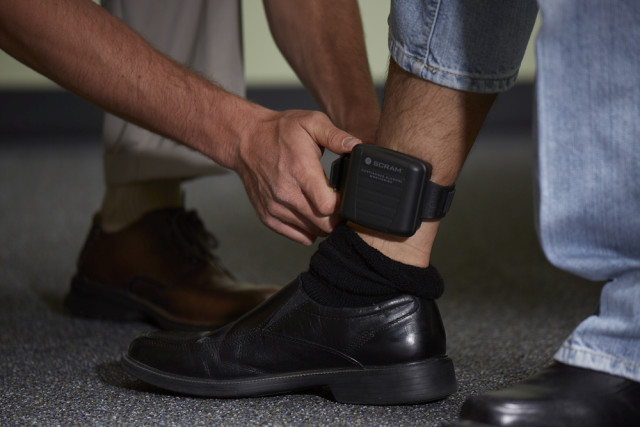 ankle electronic monitoring