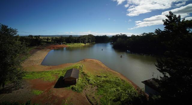 Lake Wilson Reservoir in Wahiawa