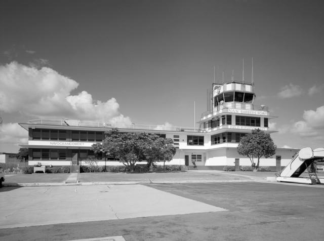 Control Tower, John Rogers Field, Kalaeola Airport