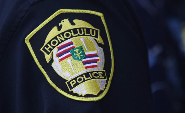 Honolulu Police Dept shoulder patch1