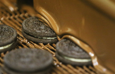 Oreos on their way to becoming more at Chocolate On a Mission.