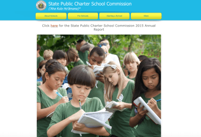 Lawmakers created the Hawaii State Public Charter School Commission in 2012 to oversee broad changes to school oversight.