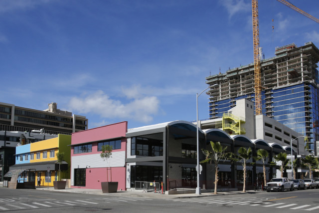 The SALT at Our Kakaako commercial and restaurant complex grand opening will be in December.