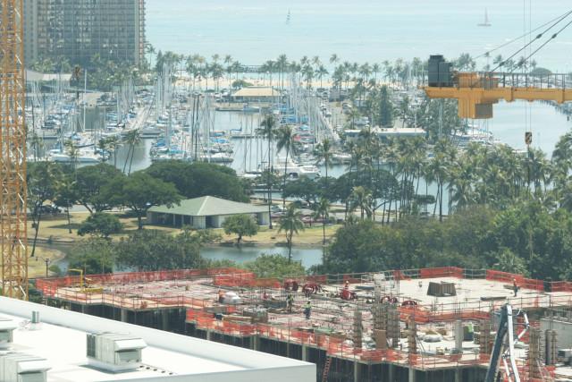 Ala Moana Center construction3