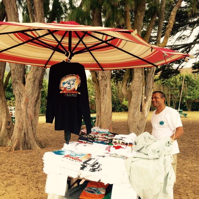 Biplab Biswas at Ehukai Beach Park.
