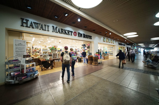 Hawaii Market En Route Honolulu Airport1