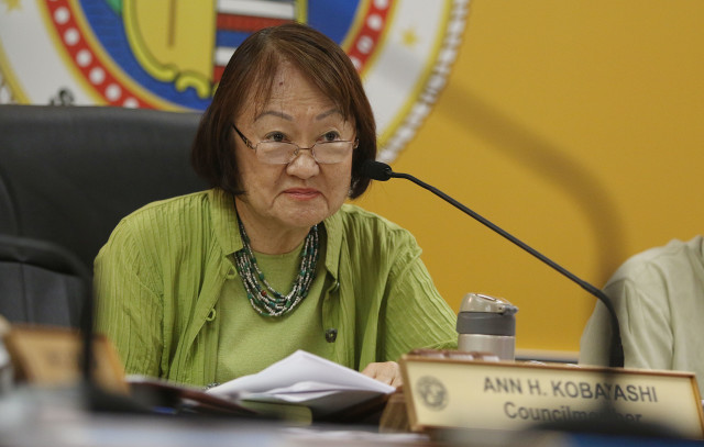Honolulu City Council member Ann Kobayashi6