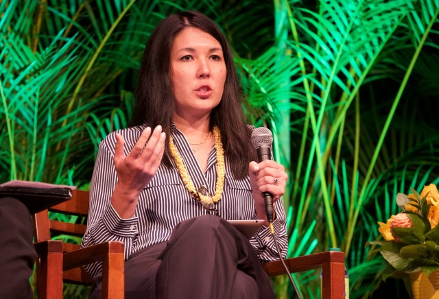 Shelee Kimura, Hawaiian Electric Co. vice president of corporate planning and business development, said the customer is an integral part of a 100 percent renewable energy future.