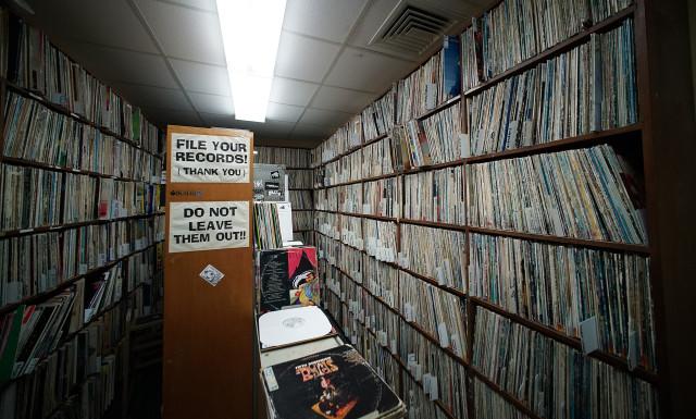 KTUH vinyl records vault2