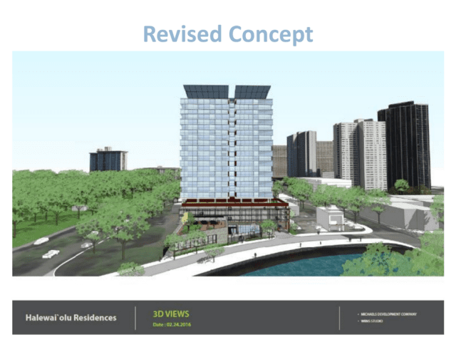 This rendering shows what the proposed River Street senior housing project in Chinatown is expected to look like.