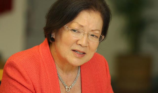 Senator Mazie Hirono editorial board. 24 march 2016.
