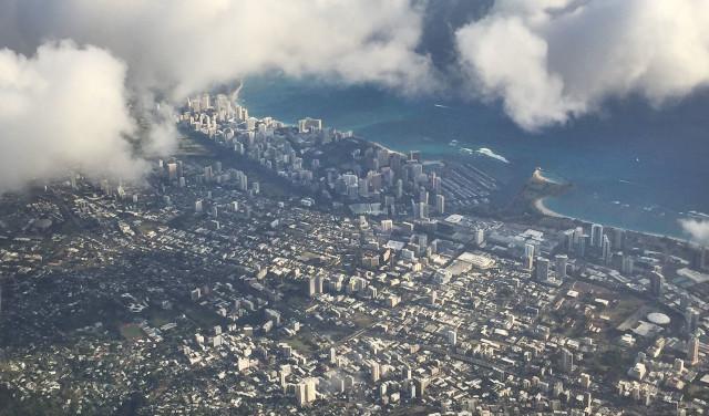 Waikiki Honolulu Aerial2