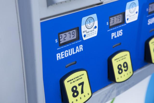 Gas at $2.279 at Aloha Island Mart at the cross streets of Kapahulu Ave and Kaimuki Ave