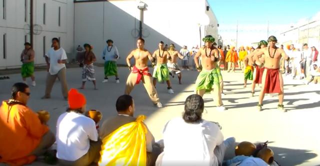 2015 Makahiki ceremony at the Saguaro Correctional Center in Eloy, Arizona.