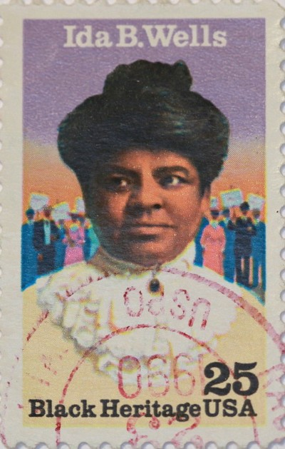 Born a slave, journalist and civil rights activist Ida B. Wells led a crusade in the 1890s against lynching in the South.
