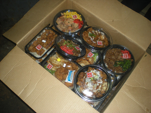 Fruits, vegetables and bentos are just a few of many types of food the FRN recovers.