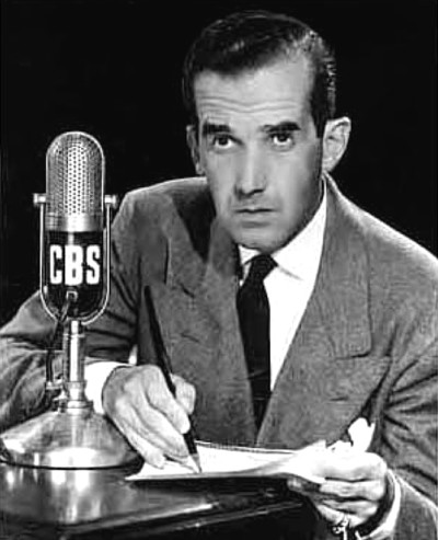 """CBS journalist Edward R. Murrow's reporting during the """"Red Scare"""" of the 1950s helped lead to the downfall of Sen. Joseph McCarthy."""