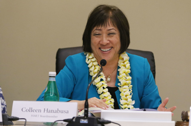 HART Chair Colleen Hanabusa. 21 april 2016