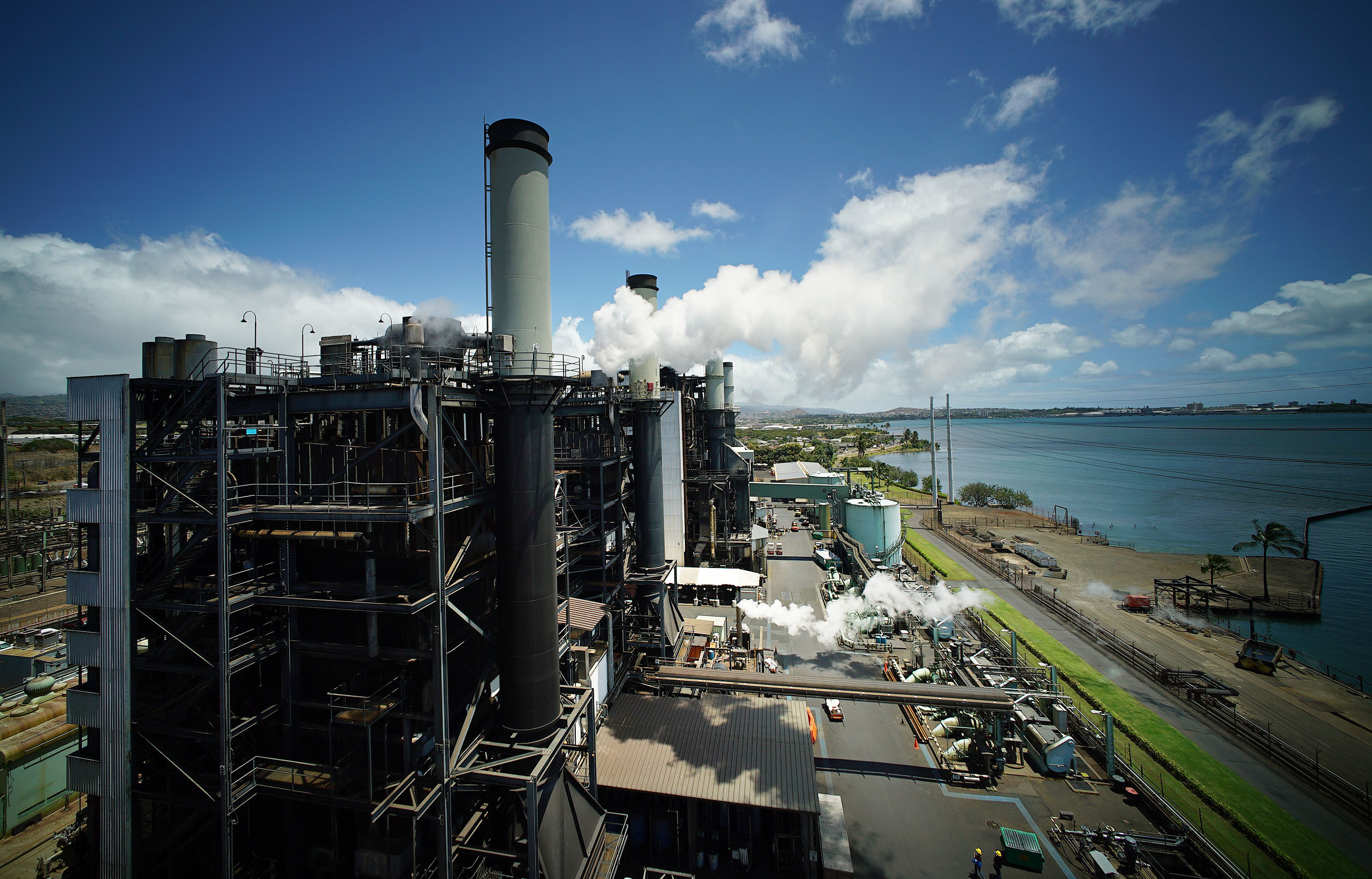 HEI HECO Waiau power plant overview1. 14 april 2016.