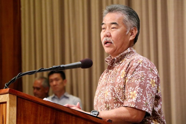Gov. David Ige announces Monday his request of $17.14 million for fiscal 2016 to cover the Department of Hawaiian Home Lands' operating and administrative budget.