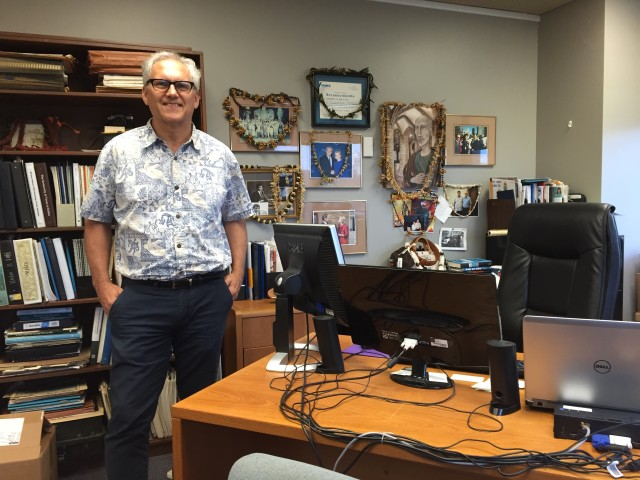 Mark Glick is the head of the Hawaii State Energy Office. He's been in the job since 2011 and has seen the renewable energy market blossom in Hawaii.