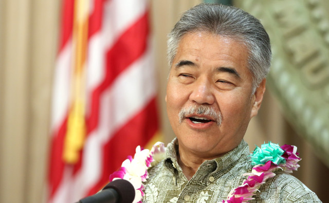 Governor David Ige legislature presser. 4 may 2016