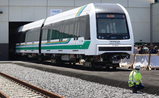HART Rail Train Number 1. 2 may 2016.