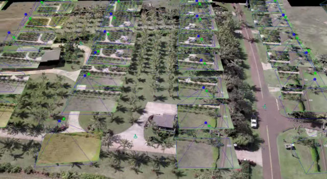 Kauai Makers member Adam Orens has built a drone that can generate 3-D models of structures and terrain by taking images from different heights along a programmed flight pattern.