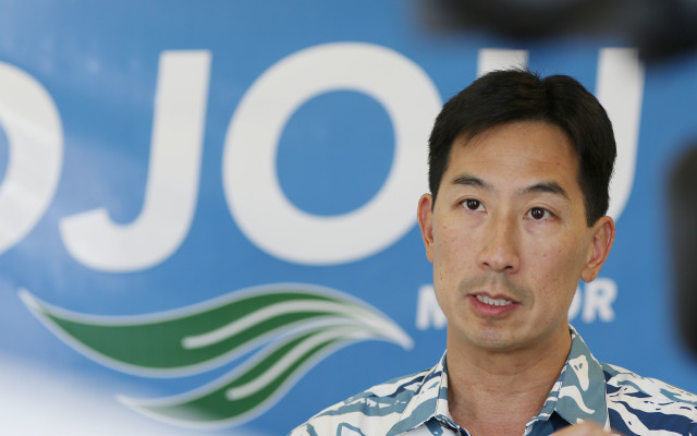 Charles Djou Mayor candidate. 16 june 2016